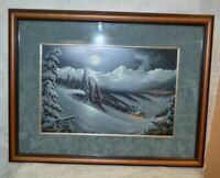 Jesse Barnes Rising to New Heights Salt Lake Olympics 2002 Limited Edition Print
