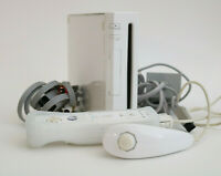 Nintendo Wii Console - RVL-001, GameCube compatible. TESTED works, no sensor bar