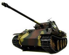 RC disparo tanques/Panther bb 2.4 GHz metal engranajes humo/Sound aerógrafo tarnlack