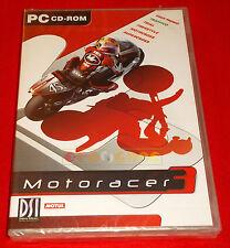 MOTORACER 3 Pc Moto Racer Versione Ufficiale Italiana ○ NUOVO SIGILLATO - E2