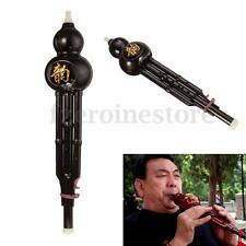 Chinese Yunnan Hulusi Gourd Cucurbit Flute C/Bb Ethnic Music Wind Instrument