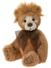 Hawkins by Charlie Bears - jointed plush collectable teddy bear - CB202024A