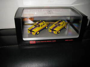 1/64 ACE MAD MAX MOVIE CARS XA & XB SEDAN PURSUIT MFP INTERCEPTORS TWIN SET