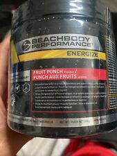 Beachbody Performance Energize Pre-Workout Energy Fruit Punch SEALED Exp 11/2021