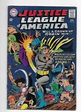 Justice League of America #55 1967 Earth 2 Robin 6.0 Fine