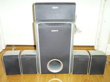 SONY SS-T31 COMPACT SURROUND SOUND SPEAKER SYSTEM