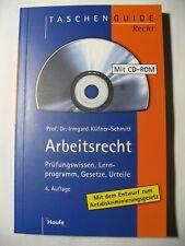 Arbeitsrecht, Prüfungswissen, Lernprogramm, Gesetze, Urteile, mit CD-ROM