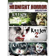Killjoy: Complete Evil Clown Horror Movie Series 1 2 3 Box / DVD Set NEW!