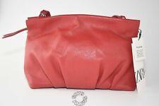 BNWT Zara Red Leather Crossbody Bag
