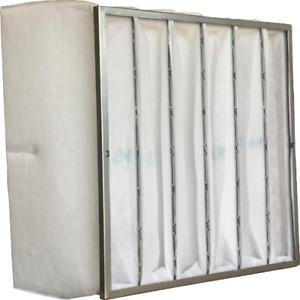 M5 HVAC Pocket/Bag Filter 20mm Hdr 6 & 12 Packs