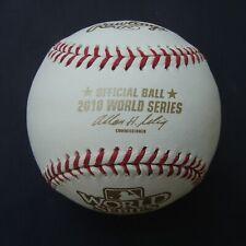 2010 Rawlings Official World Series Ball SAN FRANCISCO GIANTS