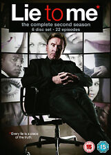 LIE TO ME COMPLETE SERIES 2 DVD Second Season Tim Roth Original UK Release New