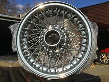 TUDOR WHEELS Classic Wheel Restoration - Alvis TA TB TC TE21 TF21 CHROME EFFECT
