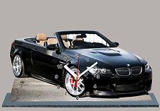 MODEL CARS, BMW M3 E93 -05, car passenger,11,8x 7,8 inches aluminium with Clock