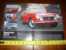 1964 FIAT 1600S OSCA - ORIGINAL 2011 ARTICLE