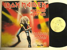 "IRON MAIDEN ""Maiden Giappone"" - 12"" MAXI SINGLE-France pressing - 4 canzoni"
