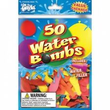 Water Balloon Water Bomb with Filler (50). Gayla Industries. Brand New