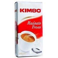 Caffe' Kimbo macinato fresco 250 gr di Napoli Tostatura Media Moka Espresso