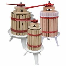 More details for vidaxl fruit and wine press cider apple berry juice maker multi capacities