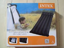 Matelas pneumatique Intex, coloris noir, pour camping, trekking,... neuf