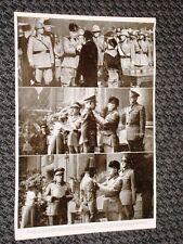 Roma nel 1937 Fascismo I Annuale Impero Duce Caserma Castro Pretorio Medaglie
