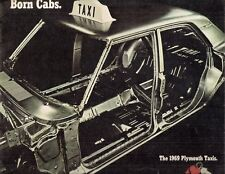 Plymouth fury & belvedere taxi 1969 usa market sales brochure