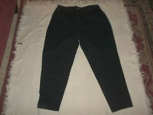 LA Blues Black Jeans PLUS SZ 20 AVE RELAXED 36X29 R 15 COTTON