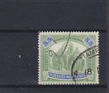 Federated Malay States KEVII/KGV SG 50 Fiscal Used