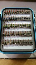 60 Copper John Fly Box - Trout Wet Flies - Fly Fishing Flies US Veteran Owned