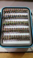 60 Copper John Fly Box - Trout Wet Flies - Fly Fishing Flies US Veteran Owned