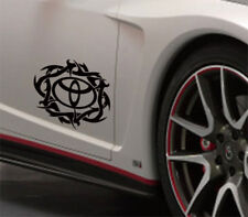 Toyota Tribal Vinyl Decals Stickers Car Window JDM 4x4 RAV4 Yaris Tsport Corolla