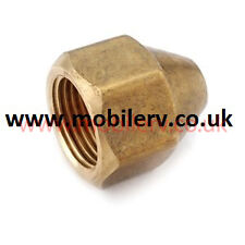 American Motorhome RV Brass Flare Nut To Fit 1/4 Inch Piping