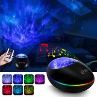 Galaxy Projector, Star Light Projector for Bedroom, Ocean Wave Projector Night L