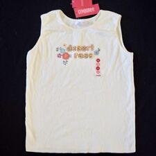 2006 Gymboree Summer Safari Top Shirt Size Sz 12 Flowers Floral Cream Desert Tee