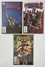 Marvel Zombies 3 Zombies Destroy! Three Comic Lot Jocasta Machine Man
