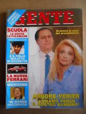 GENTE n°39 1989 Modugno Arbore Venier Edwige Fenech Goggi   [G592]