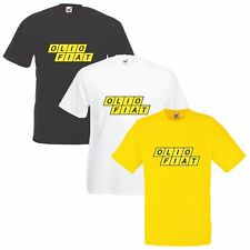 Olio Fiat T-Shirt VARIOUS SIZES & COLOURS Car Enthusiast Abarth Rally