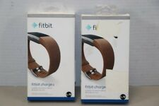Fitbit Brown Leather Accessory Band For Fitbit Charge 2 L/G