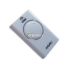 Télécommande FAAC XT2 868 Mhz SLH LR 2 canaux 787009 pour automatisme portails