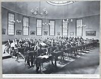 RARE Vintage 11x14 MIlton Academy Boarding School Students Boston MA. Circa 1900