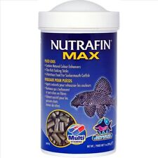 Nutrafin Max Pleco Algae Logs 200g Catfish Food