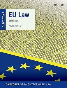 EU Law Directions Paperback