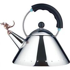 Alessi Tea Rex Kettle Black 9093REX B by Michael Graves