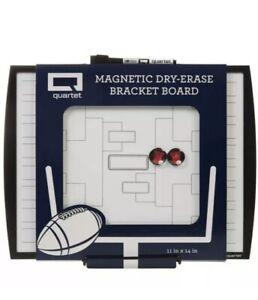 "Quartet Magneric Dry Erase Bracket Board 11"" x 14"" 32 teams NEW w/portable easel"