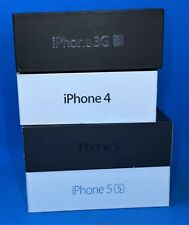 Collectible Apple iPhone Boxes- LOT OF 4- *No Phone/Accessories*- 3GS-4-5-5S