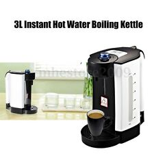 3L Instant Hot Water Boiling Kettle Electric Heating Boiler Dispenser Tea Maker