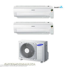 Climatizzatore Dual Split Samsung Inverter AR5500M WiFi 7+12 7000+12000 AJ040FC