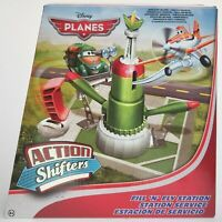 Disney Planes Action Shifters Fill and Fly Station Playset Toy