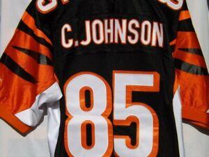 CHAD JOHNSON OCHO CINCO #85 NFL ON FIELD CINCINNATI BENGALS SIZE 52 JERSEY NWT!