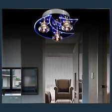 LED Moon Star Modern Dining Room Crystal Chandelier Ceiling Light Pendant Lights
